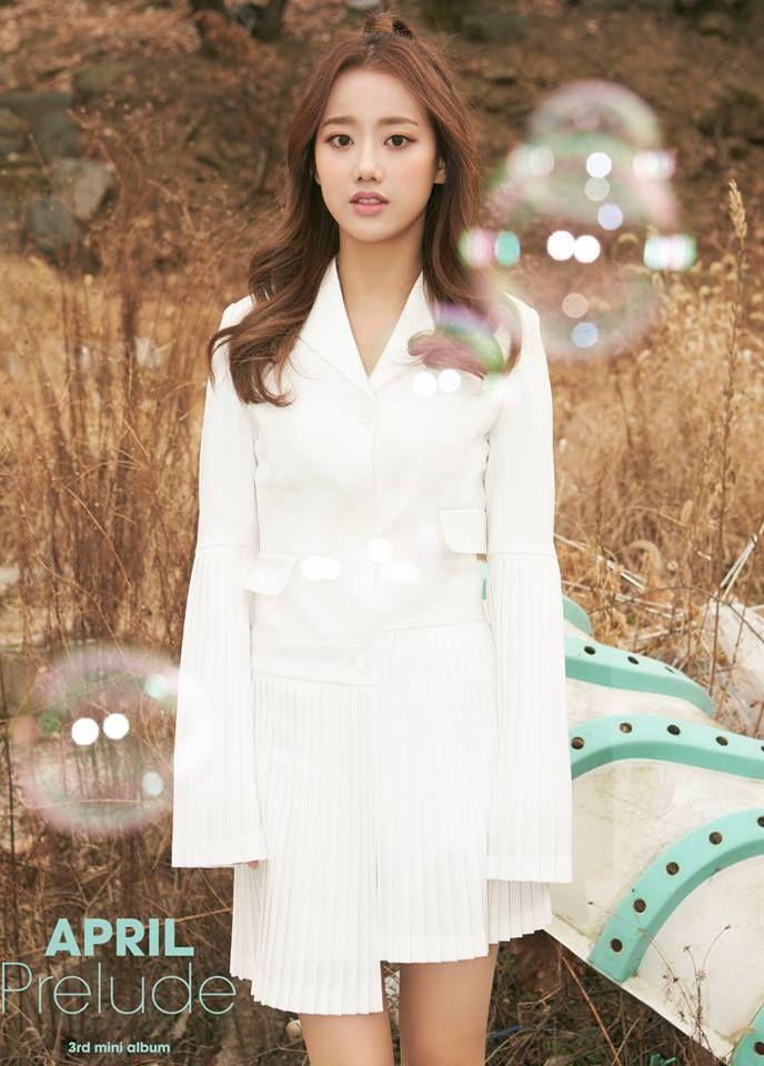 april prelude teaser, april prelude comeback, april 2017 comeback, april new members, april kpop profile, april yoon chaekyung, april kpop 2017