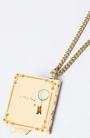 Disney Couture Jewelry The Pooh Collection Story Book Necklace : Karmaloop.com - Global Concrete Culture