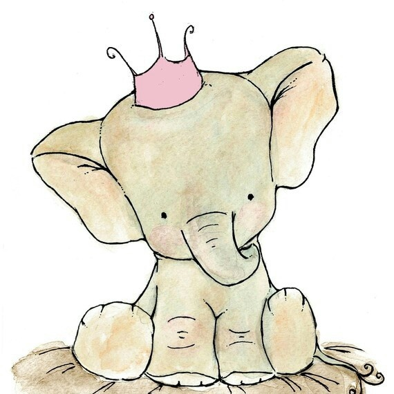 Elephant prince, freaking cute elephant drawing