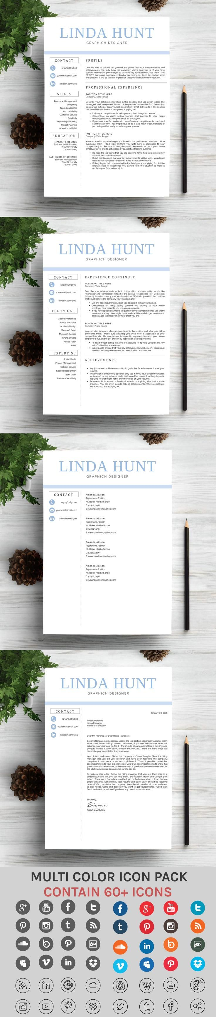 graphic design resume objective%0A Creative and Modern Resume