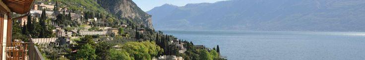 Seesicht Gardasee Hotel Meandro in Gargnano, 3 Sterne Hotel mit Restaurant und Schwimmbad