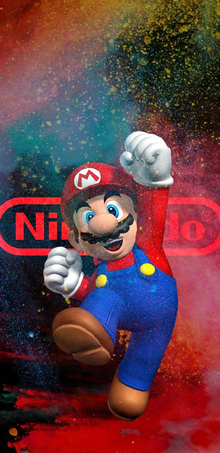 Nintendo Desenhos do mario, Papéis de parede de jogos