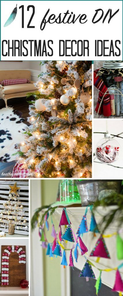 12981 best images about  DIY Holiday Decorating  on Pinterest