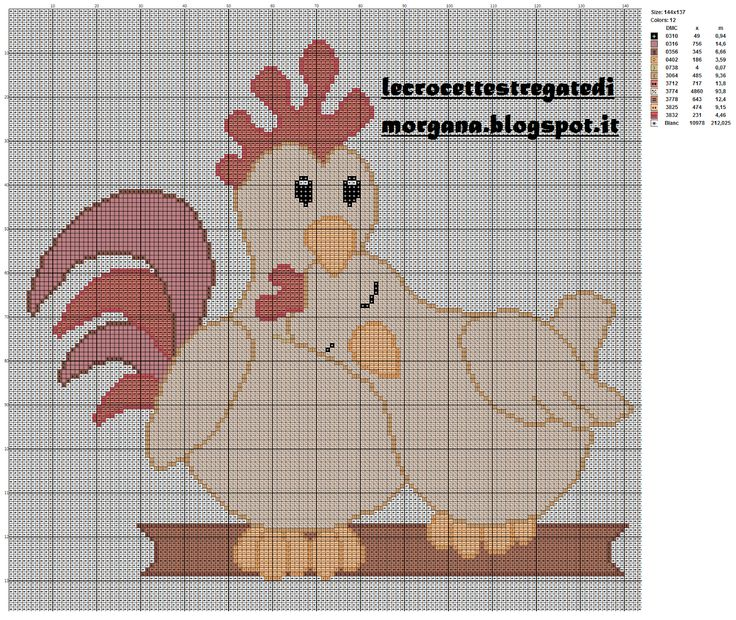 Point de croix *<3* Cross stitch Crocette stregate