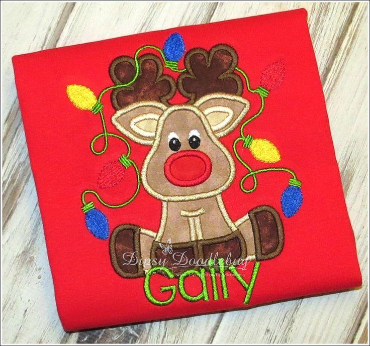 Reindeer Pajamas - Red Nose Reindeer Pajamas - Boys Reindeer Pajamas - Boy Christmas Pajamas - Christmas Pajamas - Personalized Pajamas by DipsyDoodlebug on Etsy https://www.etsy.com/listing/208569272/reindeer-pajamas-red-nose-reindeer