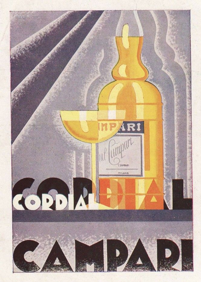 Cordial Campari and the art of illustration. www.italianways.com/cordial-campari-and-the-art-of-illustration-ii-part/