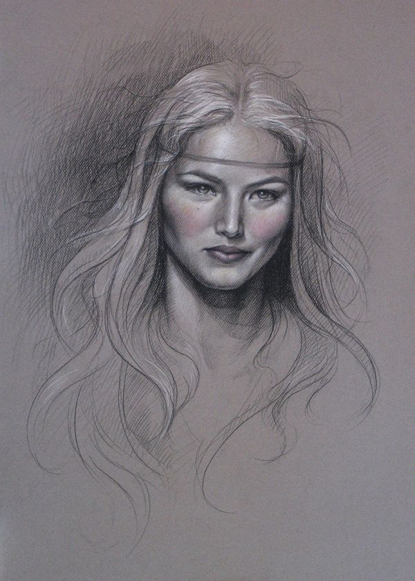 drawings by sara golish, via Behance
