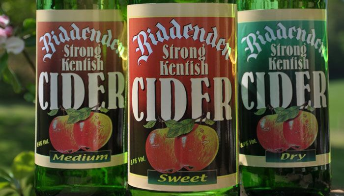 The Campaign for Real Ale (CAMRA) has presented Biddenden Strong Kentish Cider with an award for Cider of the Festival 2015 at the Great British Beer Festival in August: http://localfoodbritain.com/articles/camra-names-biddenden-strong-best-cider/