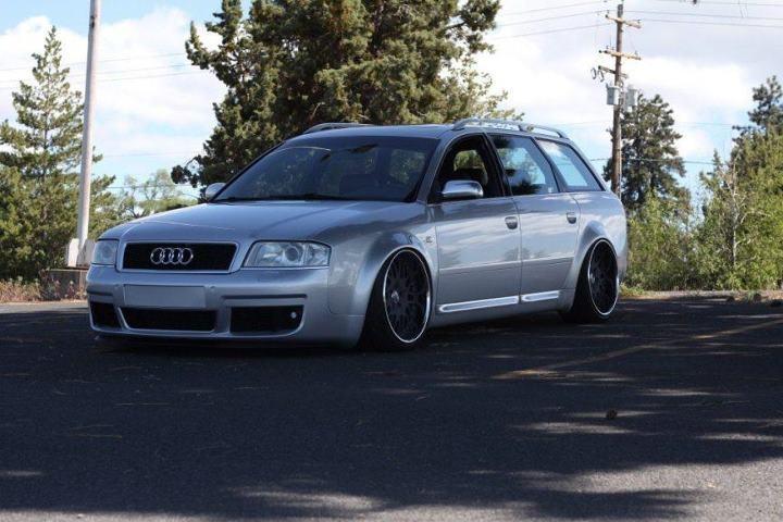 Bagged Audi Allroad