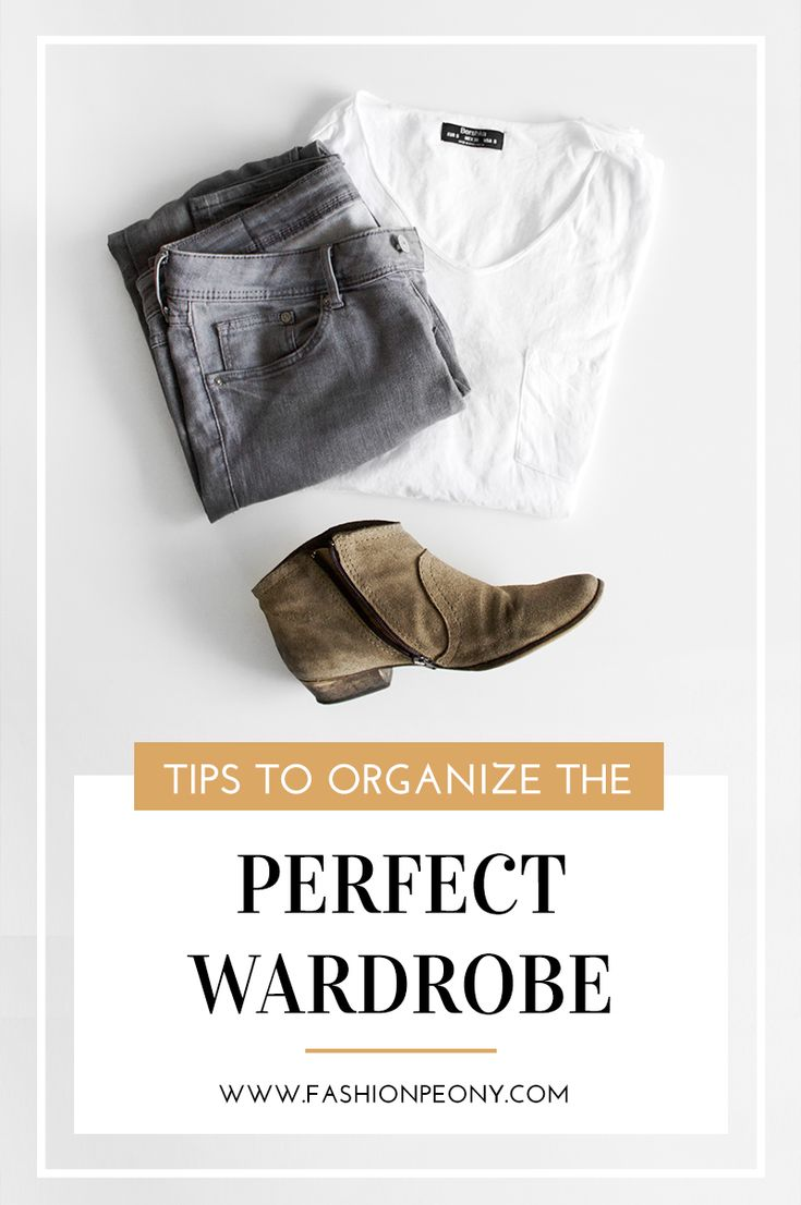 Ottieni un guardaroba perfetto con questi semplici consigli! | Get the perfect organized wardrobe with these simple tips! | The fashion peony blog