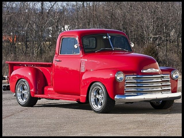 Pro-Touring Classic '51 Chevy Pickup ~ my dad had one of these, learned to drive stick-shift in it!!