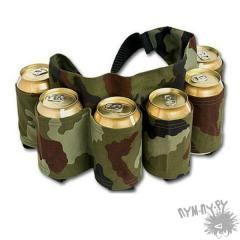 Пояс под пиво (камуфляж)
