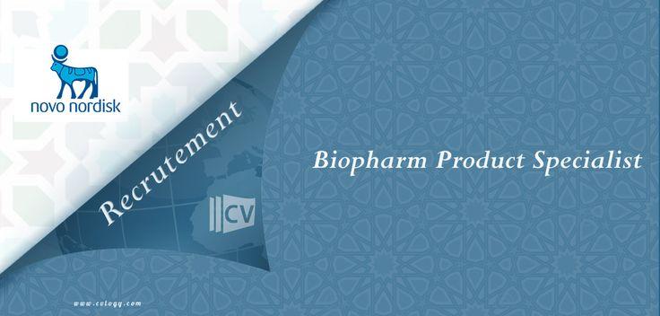 #NovoNordisk #embauche un #Biopharm #Product #Specialist à #Casablanca