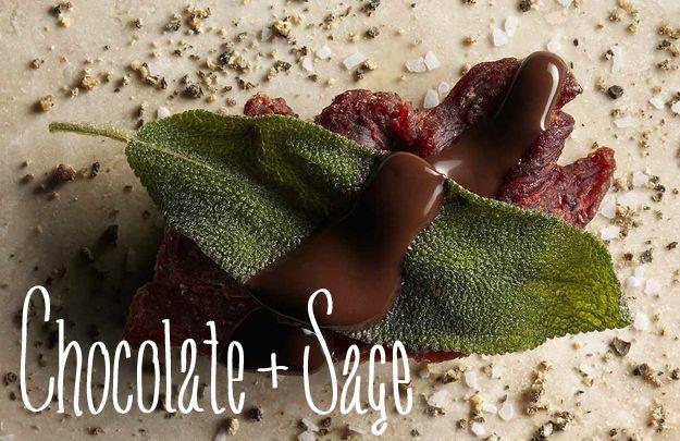 Chocolate + Sage