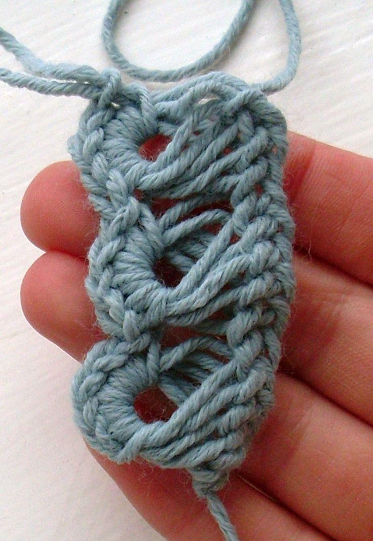 Broomstick Lace Bracelet « Cult of Crochet