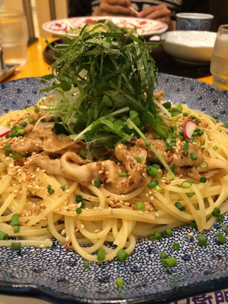 Japanese style pasta at Goemon