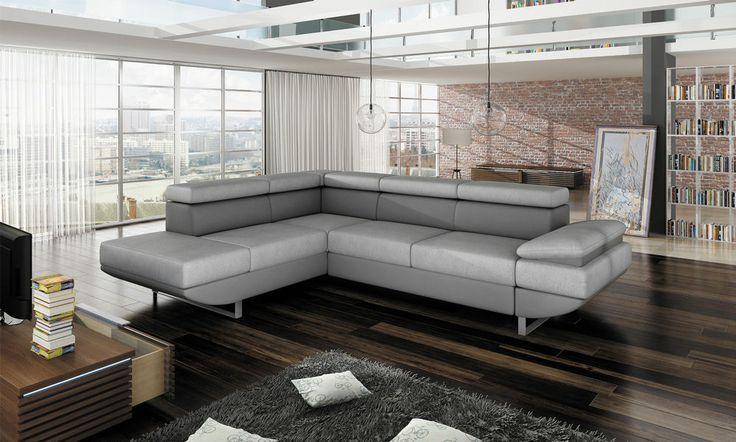 Couchgarnitur GIO Couch Sofa Sofagarnitur Polsterecke Schlaffunktion