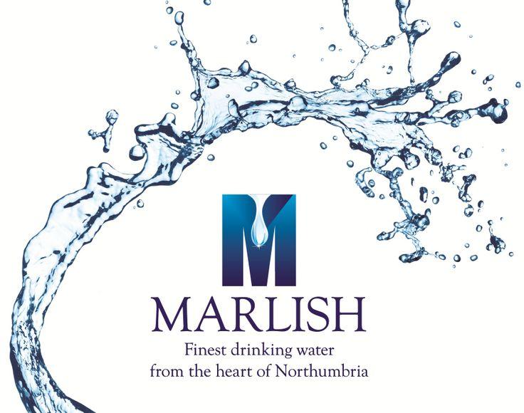The @marlishwater logo. Fresh and inviting like the water! #Marlish #Springwater