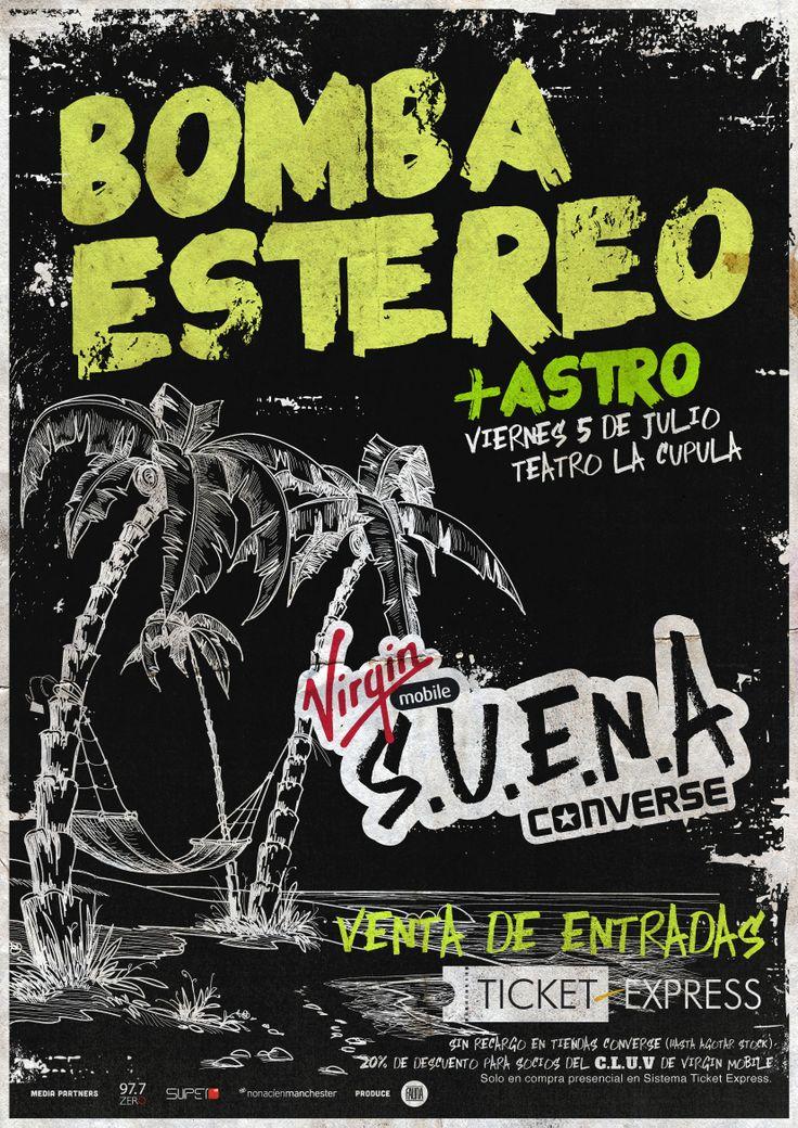 Bomba Estéreo + Astro! #VirginConverseSUENA #2013