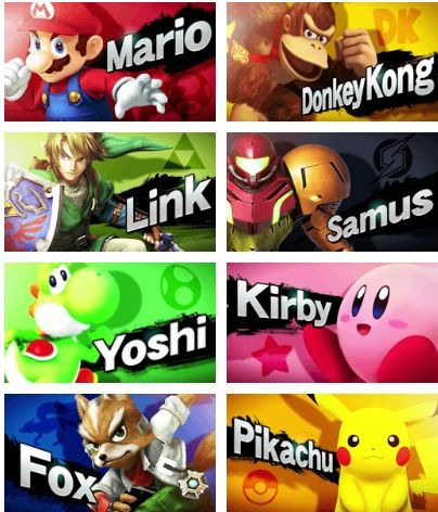 Original 8 smashers. Lol sorry I have been so dead lately guys, I have been away for the last two weeks but I am back on now :P