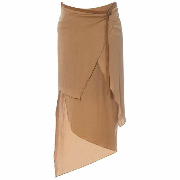 Pin By On Lang In 2020 Draped Skirt Helmut Lang Dress Silk Charmeuse