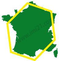 Hexagon of France
