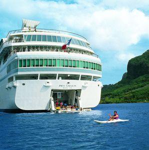 Paul Gauguin Cruises, Tahiti