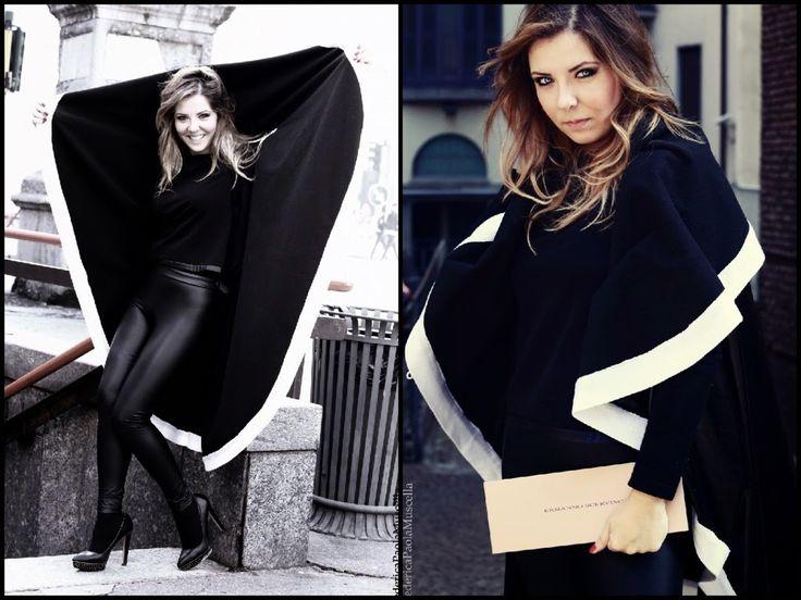 Il cerchio, capo universale di Sabrina Attiani Una versione Elegante in Lana 100% Merinos! http://shop.sabrinattiani.com/shop/capispalla-outerwear-coat/woolcircle/