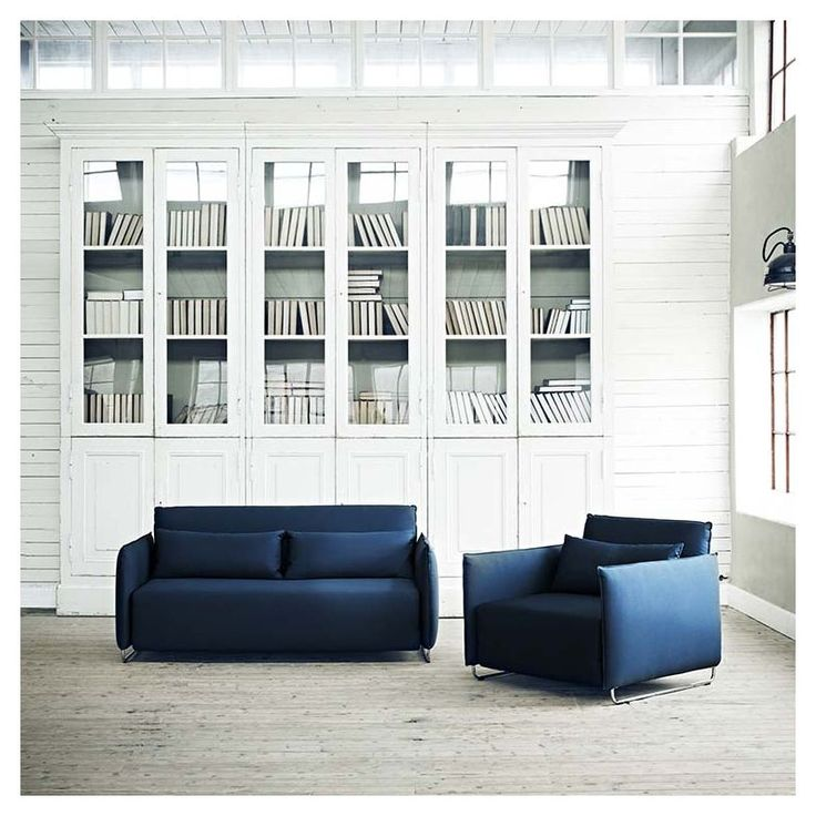CORD, A Convertible Sofa, A Convertible Armchair: Adapted To Small Spaces,  Exemplary Comfort, By Softline