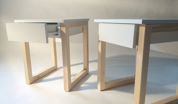 bedside table with drawer  #wood #minimalism #simpleform