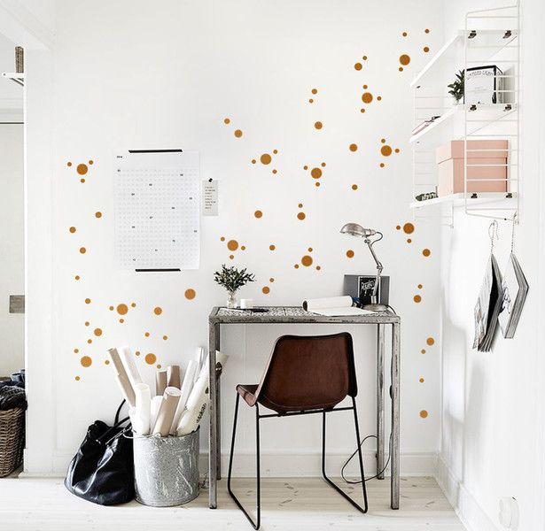Kupfer Konfetti 144 best uab diy wandsticker interior images on dots