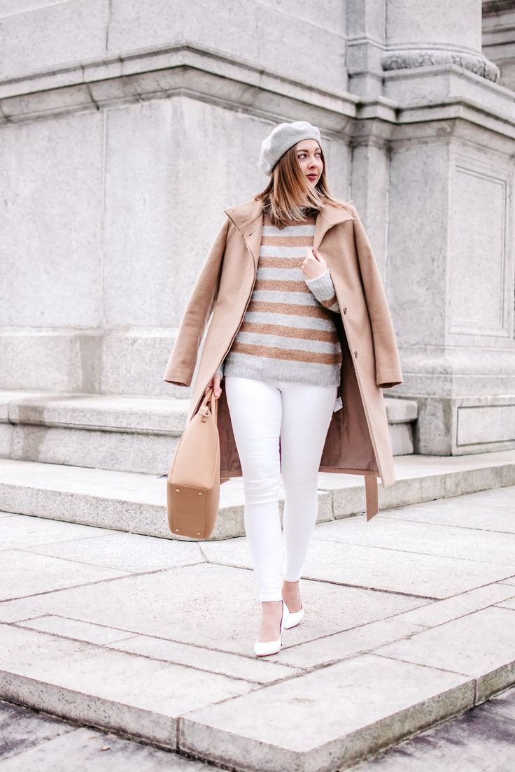 Easy and simple chic winter outfit idea by The Savvy Camel. camel coat  95c4dd7c2