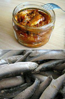 Домашняя килька в томате / Рецепты с фото