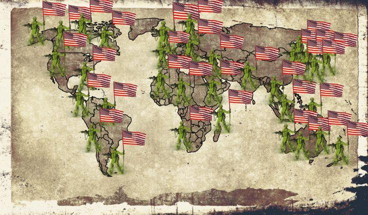 Das US Empire hat 240.000 Soldaten in 172 Ländern stationiert