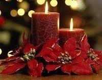 Centros de mesa caseros para Navidad
