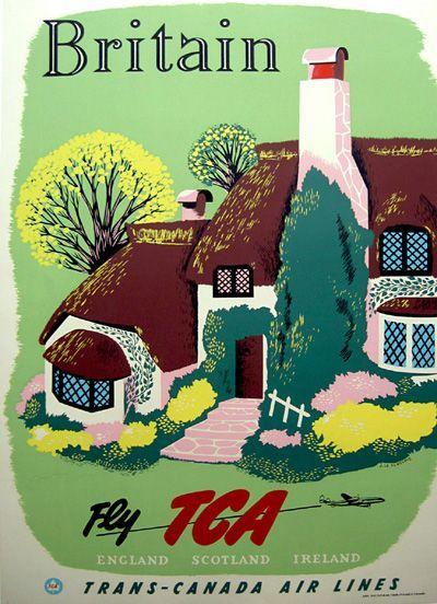 TCA to Britain ~ Jacques le Flaguais