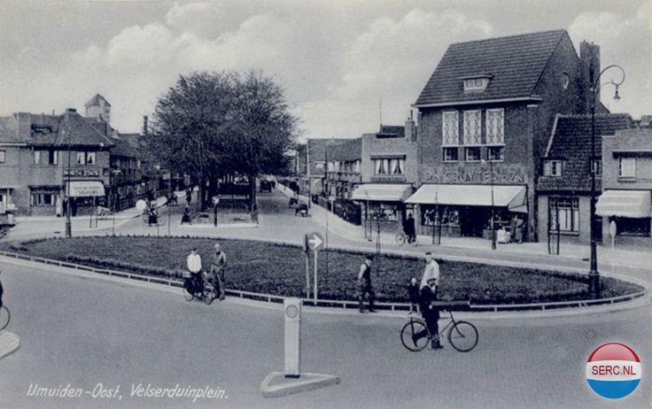 Velserduinplein IJmuiden (jaartal: 1945 tot 1950) - Foto's SERC