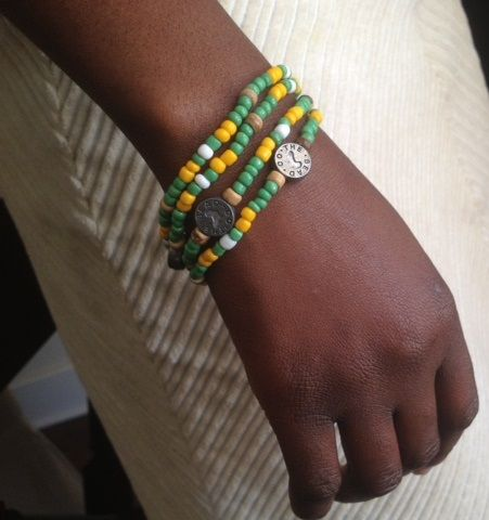 Wear a stack of our new, official Cricket SA supporters bracelet to show you love the Proteas.  Available now online www.beadcoalition.com R40 each