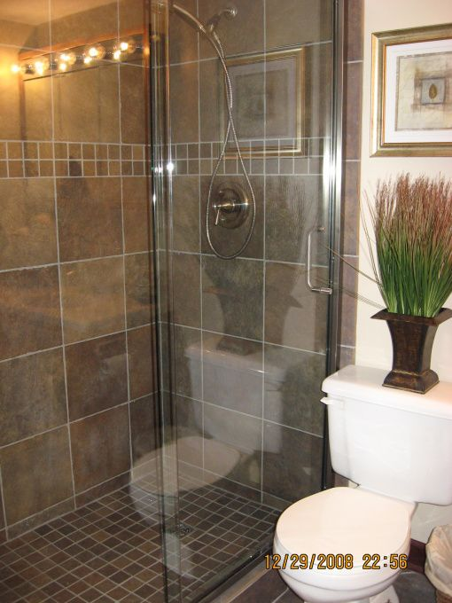 Walk in shower ideas walk in shower bathroom for Bathroom designs basement