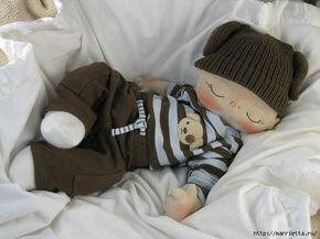 muñeco bebé durmiendo 2