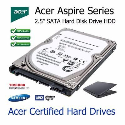 "320GB Acer Aspire 7730G 2.5"" SATA Laptop Hard Disc Drive HDD Upgrade Replacement"