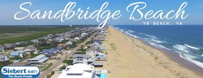 Siebert Realty Sandbridge Beach Virginia Beach Rentals VA Vacation Rentals Beach Home Condo Hotels