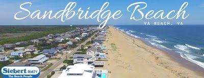 Siebert Realty Sandbridge Beach Virginia Beach Rentals VA Vacation Rentals Beach Home Condo Hotels