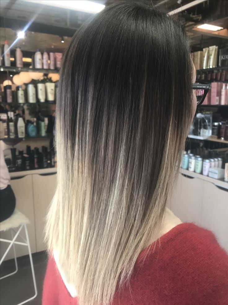 Colour change on Chinese hair , balayage, colour creation