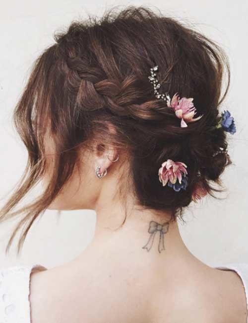 20 atemberaubende DIY Prom Frisuren für kurze Haare