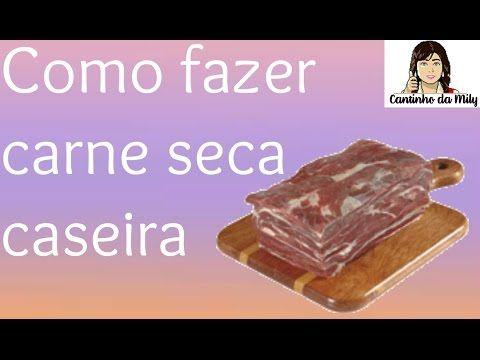 CARNE DE SOL OU SERENADA COMO FAZER EM CASA ? - YouTube