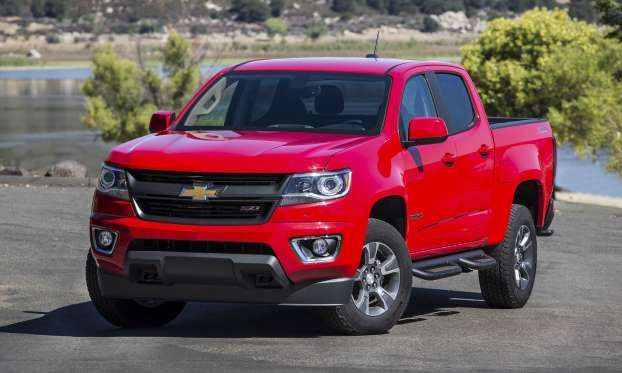 All new for the 2015 model year, Chevy's Colorado compact pickup has updated styling as well as new ... - General Motors