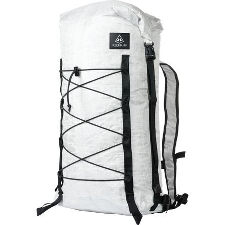 The Hyperlite Mountain Gear Dyneema Summit Pack is an ultralight, minimalist, yet nearly indestructible pack for goal-oriented adventurers who travel light and demand a lot from their gear. It sports all the same features as Hyperlite's Summit 30L pack, except this version is made entirely from Dyneema fabric for completely waterproof, incredibly tough, and ridiculously lightweight performance.