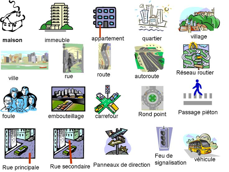 Autour de la vie urbaine