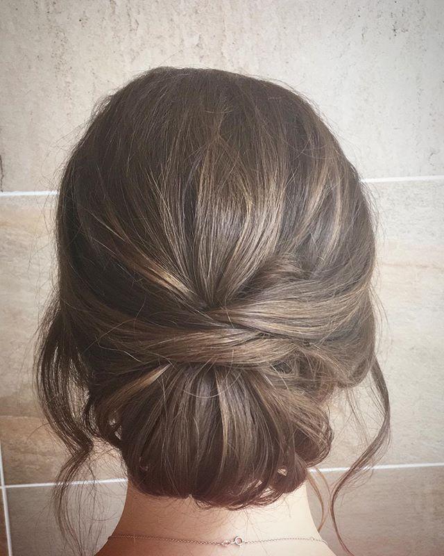 Irgendwie ein bisschen Textur rückgängig gemacht, aber immer noch ein Upstyle. . . . #hochzeitshaar #brida …   – wedding hairstyles